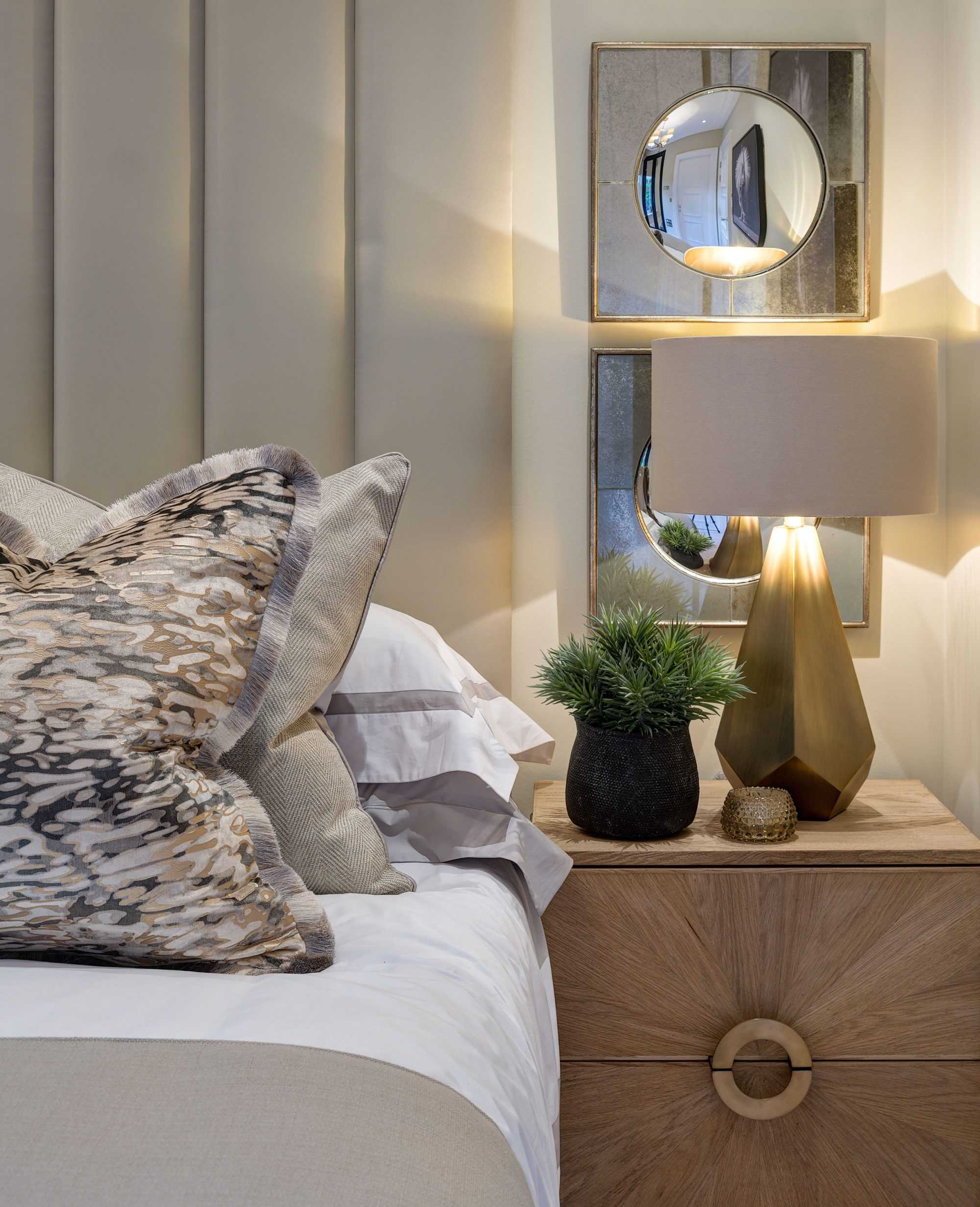 The L&C Company Master Bedroom Interior Design Surrey